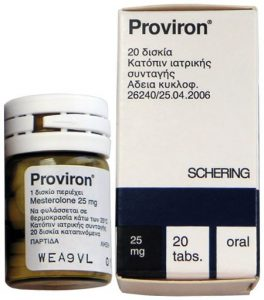 proviron side effects
